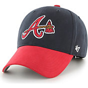 '47 Youth Atlanta Braves Basic Navy Adjustable Hat