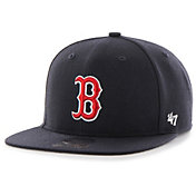 '47 Youth Boston Red Sox Lil Shot Captain Adjustable Snapback Hat