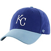 '47 Youth Kansas City Royals Short Stack MVP Royal/Light Blue Adjustable Hat