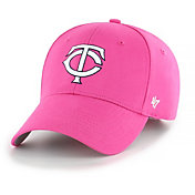 '47 Youth Girls' Minnesota Twins Basic Pink Adjustable Hat