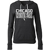 New Era Women's Chicago White Sox Tri-Blend Pullover Hoodie