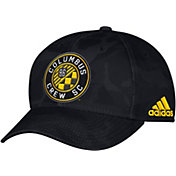 adidas Men's Columbus Crew Camo Structured Adjustable Hat