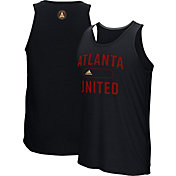 adidas Men's Atlanta United Marathon Black Tank Top