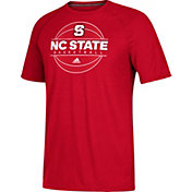 adidas Men's NC State Wolfpack Red On Court Ultimate Short Sleeve T-Shirt