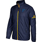 adidas Men's St. Louis Blues Authentic Rink Navy Full-Zip Jacket