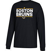 adidas Men's Boston Bruins Dassler Black Long Sleeve Shirt
