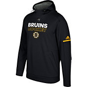 adidas Men's Boston Bruins Authentic Pro Player Black Performance Pullover Hoodie