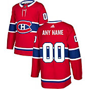 adidas Men's Custom Montreal Canadians Authentic Pro Home Jersey