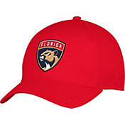 adidas Men's Florida Panthers Team Colored Basic Structured Red Flex Hat
