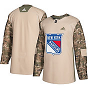 adidas Men's New York Rangers Camo Authentic Pro Jersey