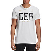 adidas Men's 2018 FIFA World Cup Germany Crest White T-Shirt