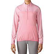 adidas Women's Advantage Half-Zip Golf Pullover