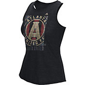 adidas Women's Atlanta United Box Inside Black Heathered Tank Top