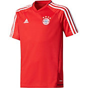 adidas Youth Bayern Munich Red Training Top