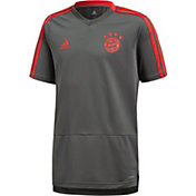 adidas Youth Bayern Munich Grey Training Top