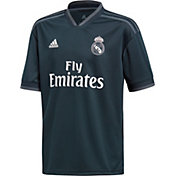 adidas Youth Real Madrid 2018 Stadium Away Replica Jersey