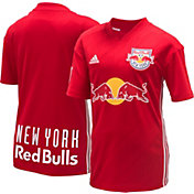 adidas Youth New York Red Bulls Secondary Replica Jersey
