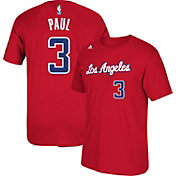 adidas Youth Los Angeles Clippers Chris Paul #3 Red T-Shirt