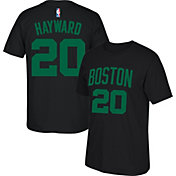 adidas Youth Boston Celtics Gordon Hayward #20 Black T-Shirt