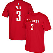 adidas Youth Houston Rockets Chris Paul #3 Red T-Shirt
