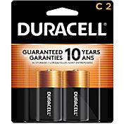 Duracell Coppertop C Alkaline Batteries – 2 Pack
