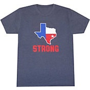 Aksels Men's Houston Strong State Tri-Blend T-Shirt