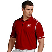 Antigua Men's Atlanta Hawks Icon Hawks Performance Polo