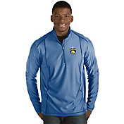 Antigua Men's 2017 NBA Champions Golden State Warriors Tempo Royal Quarter-Zip Pullover