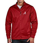 Antigua Men's Alabama Crimson Tide Crimson Full-Zip Golf Jacket