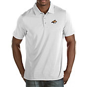 Antigua Men's Montana State Bobcats White Quest Polo