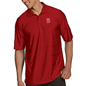 Antigua Men's NC State Wolfpack Red Illusion Polo