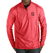 Antigua Men's NC State Wolfpack Red Tempo Half-Zip Pullover