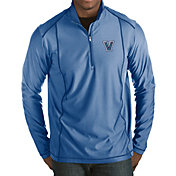Antigua Men's Villanova Wildcats Blue Tempo Half-Zip Pullover