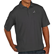 Antigua Men's Navy Midshipmen Navy Pique Xtra-Lite Polo
