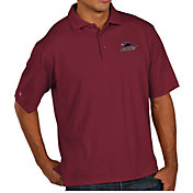 Antigua Men's Southern Illinois  Salukis Maroon Pique Xtra-Lite Polo