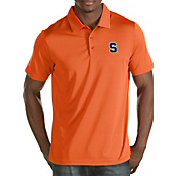 Antigua Men's Syracuse Orange Orange Quest Polo