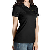 Antigua Women's Oregon Ducks Black Inspire Performance Polo