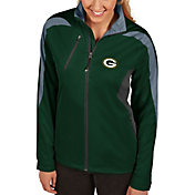 Antigua Women's Green Bay Packers Discover Full-Zip Green Jacket