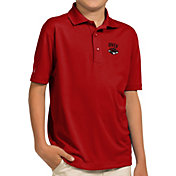 Antigua Youth UNLV Rebels Scarlet Pique Polo