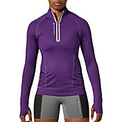 SECOND SKIN Women's QUATROFLX 1/4 Zip Long Sleeve Compression Top