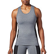 SECOND SKIN Women's QUATROFLX Heather Compression Tank