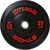 ETHOS 25 lb. Olympic Rubber Bumper Plate