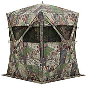 Barronett Blinds Big Mike XT Ground Blind – BLOODTRAIL Backwoods Camo