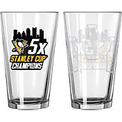 Boelter Pittsburgh Penguins 5X Stanley Cup Champions Pint