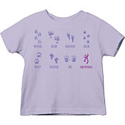 Browning Toddler Baby Tracks T-Shirt