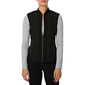 Betsey Johnson Performance Hybrid Column Quilted Vest