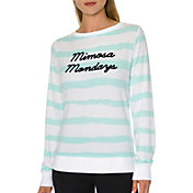 Betsey Johnson Performance Women's Mimosa Mondays Crewneck Sweatshirt