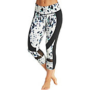 CALIA by Carrie Underwood Women's Essential Printed Spliced Capris