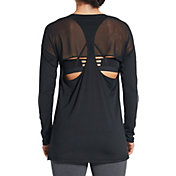 CALIA by Carrie Underwood Women's Move Mesh Back Long Sleeve Shirt
