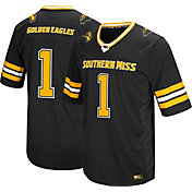 Colosseum Men's Southern Miss Golden Eagles Black #1 Hail Mary Football Jersey